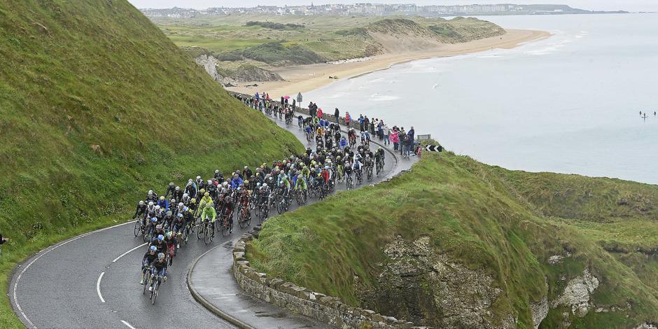 Giro, tappa 3: dall'Irlanda del Nord a Dublino