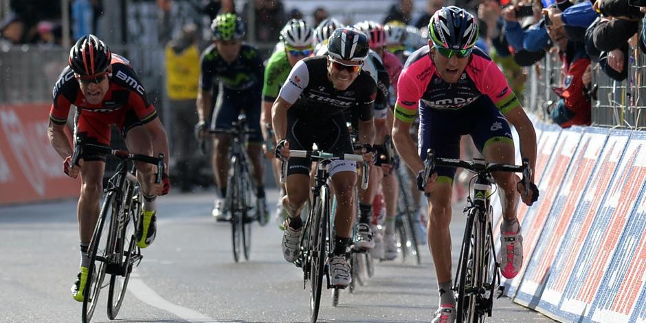 Джиро, шестой этап: подъем Монте-Кассино Ulissi хотите на бис