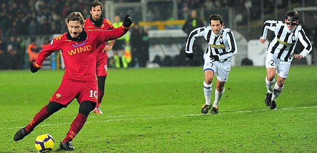 La Roma rompe a la Juventus