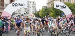 La partenza del gruppo da Lucera. Bettini