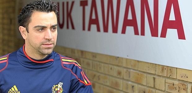 Xavi, 30 anni, centrocampista del Barcellona a della nazionale spagnola.  Afp