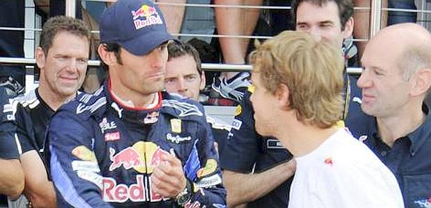 Webebr saluta Vettel senza troppo calore. Ap