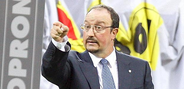 Rafa Benitez, allenatore dell'Inter.  Ap