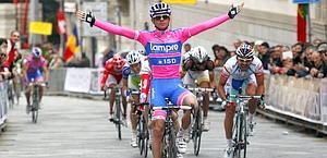 La vittoria di Daniele Pietropolli. Bettini