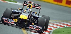 Sebastian Vettel, prima pole del 2011. Ap