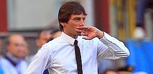 Leonardo, 41 anni, allena l'Inter dalla Vigilia di Natale. Ansa