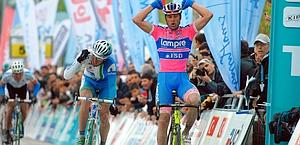 Petacchi, vincitore della quarta tappa in Turchia. Bettini