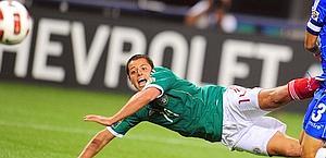 Chicharito Hernandez, 23 anni. Afp