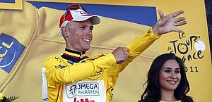 Il belga Gilbert in giallo. Bettini