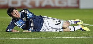 Lionel Messi, 24 anni, simbolo dell'Argentina. Ap
