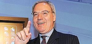 Maurizio Beretta, presidente della Lega di A. Ansa