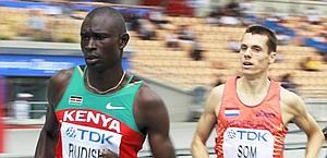 David Rudisha, 22 anni, primatista mondiale degli 800 metri. Ansa