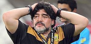 Maradona allena l''Al Wasl. Ansa