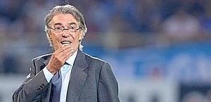 Massimo Moratti, presidente dell'Inter. LaPresse