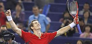 Andy Murray, 24 anni, prossimo numero 3 al mondo. Reuters