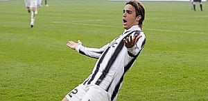 Alessandro Matri festeggia il 2-0. LaPresse
