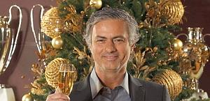 José Mourinho, allenatore del Real Madrid. Epa
