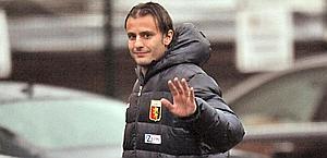 Alberto Gilardino felicemente al Genoa. Ansa