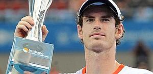 Andy Murray, 24 anni, 1 successo nel 2012. Ansa