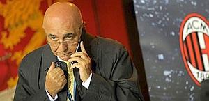 L'a.d. del Milan, Adriano Galliani. LaPresse