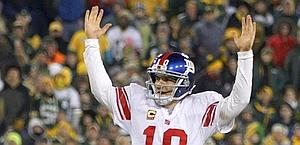 Eli Manning, 31 anni, leader dei New York Giants. Reuters