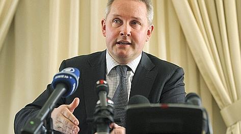 Matthieu Reeb, segretario del Tas, annuncia la sentenza
