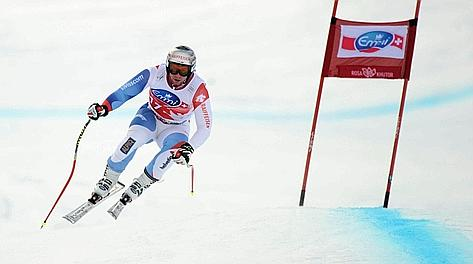 Beat Feuz, 25 anni oggi. Afp