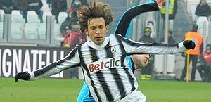 Andrea Pirlo, arrivato dal Milan a parametro zero. Ansa