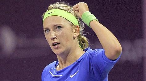 Victoria Azarenka, 22 anni, ha vinto gli ultimi tre tornei disputati. Reuters