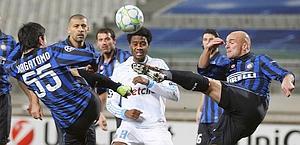 Tra Marsiglia e Inter tanti serrati duelli. Ap