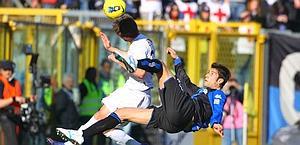 Federico Peluso, 27 anni, all'Atalanta dal 2009. Ansa