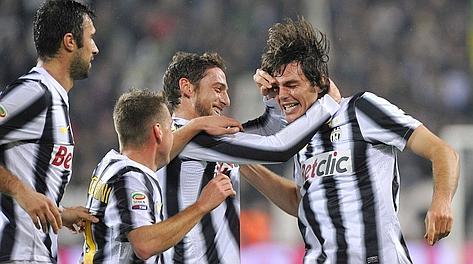 Paolo De Ceglie, 25 anni, al Chievo ha segnato il primo gol in serie A con la Juve. Reuters