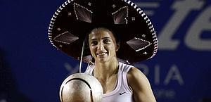 Sara Errani, 24 anni, n.31 in singolare, suo best ranking. Reuters
