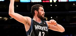 Kevin Love, 36 punti contro Golden State. Afp