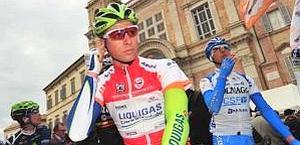 Peter Sagan, 22 anni, in maglia rossa alla Tirreno. Bettini