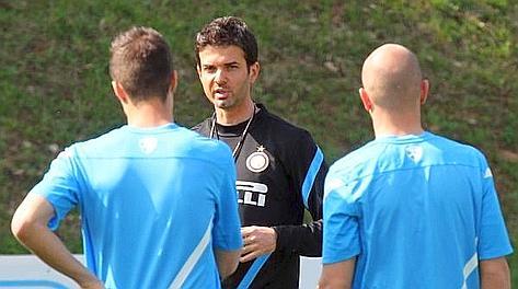 Andrea Stramaccioni, 36 anni, nuovo tecnico dell'Inter. Ansa