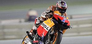 Casey Stoner, 26 anni, campione del mondo in carica. Reuters