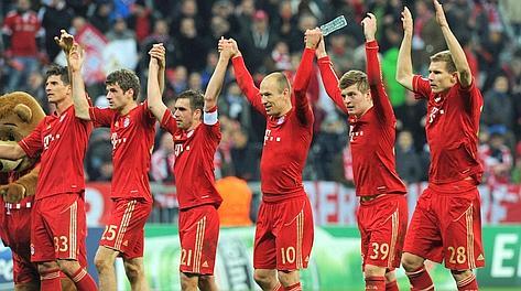 Festa Bayern a fine match. Afp