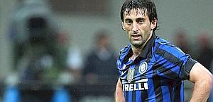 Diego Milito, 32 anni, punta dell'Inter. Forte