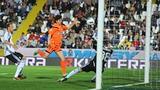 Il gol partita di Diego Fabbrini. Ansa