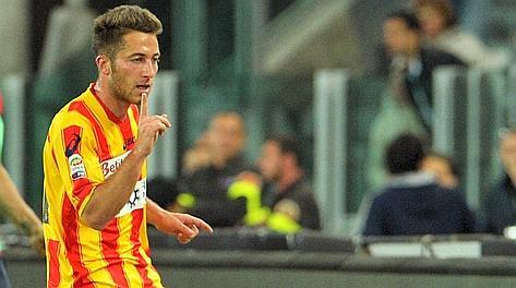 Andrea Bertolacci: pesantissimo il suo gol alla Juve. Afp