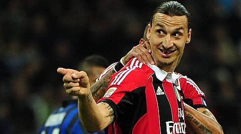 Inutile la doppietta di Zlatan Ibrahimovic. Ansa