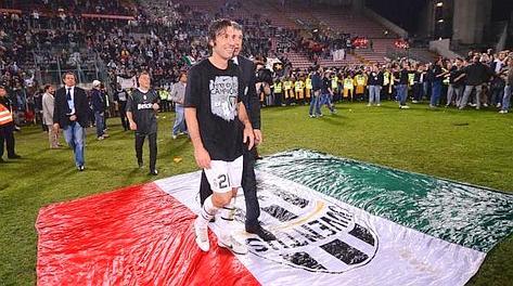 Andrea Pirlo, 3 gol in campionato, compirà 33 anni il 19 maggio. Ansa