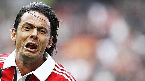 L'espressione incredula e provata di Inzaghi dopo il gol della vittoria. LaPresse