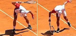 Novak Djokovic, 25 anni, campione uscente a Roma. Ansa