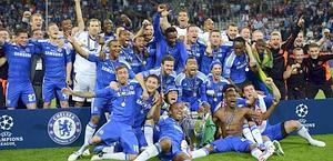 Chelsea campione d'Europa. Reuters