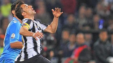 Alessandro Del Piero in azione: è stata l'ultima apparizione in bianconero. LaPresse