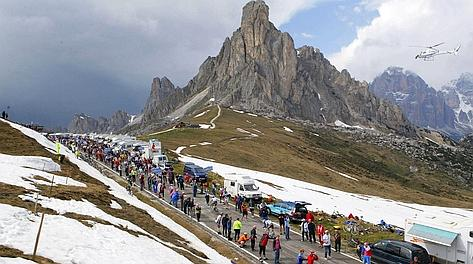 Una veduta del Passo Giau: sarà decisivo? Bettini