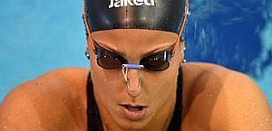 Arianna Barbieri, nuovo record italiano sui 100 dorso. Afp