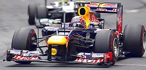 Mark Webber, nona vittoria in F.1. Afp